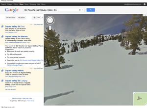 Squaw Valley, CA - Google Maps-Street-View